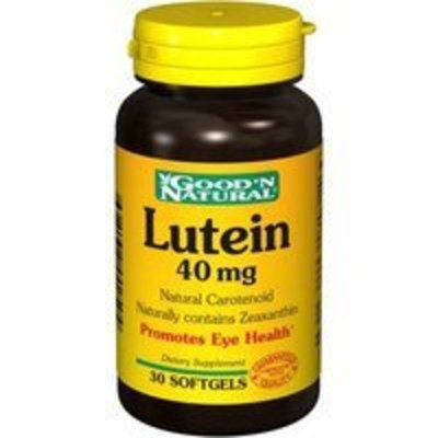Good 'N Natural - Lutein 40 mg. - 30 Softgels