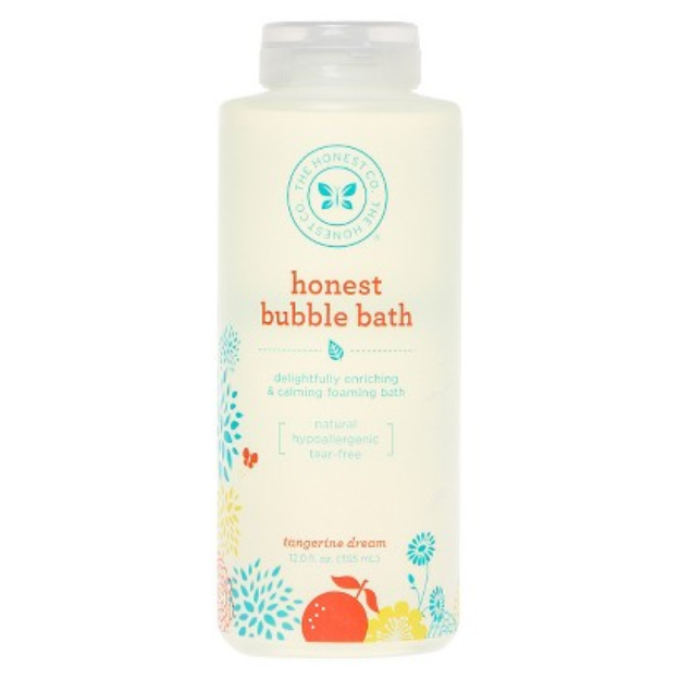 The Honest Co. Foaming Tangerine Dream Bubble Bath