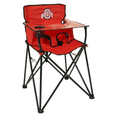 Ciao! Baby ciao! baby Ohio State Portable Highchair - Red
