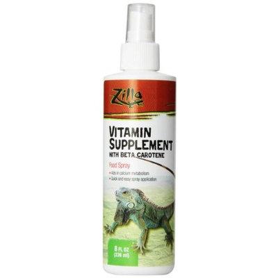 Zilla 11846 Reptile Vitamin Supplement Spray, 8-Ounce Bottle