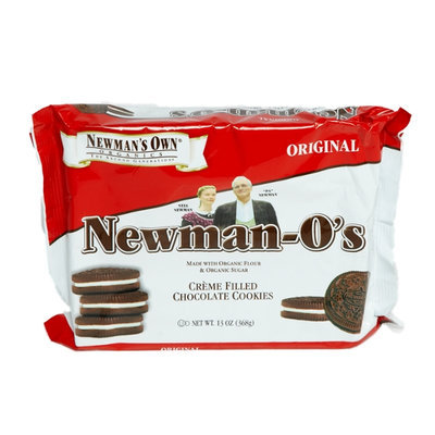Newman's Own Organics Newman-O's Original Creme Filled Chocolate Cookies