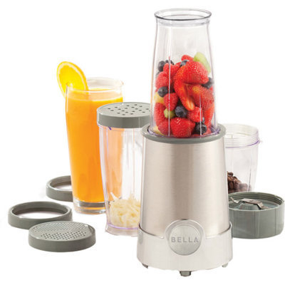 Bella 12-Piece Rocket Blender Chrome