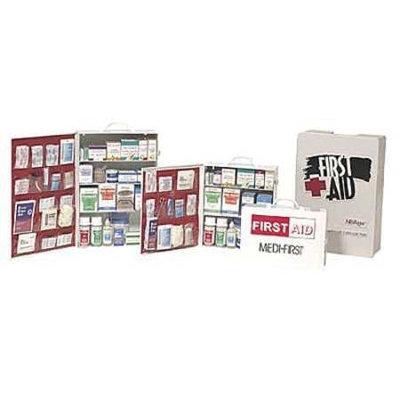 MEDIQUE 734LS First Aid Kit, Bulk, White,30 Pcs