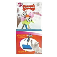 Nylabone Cat Play Swat & Spring Flower POW-R!