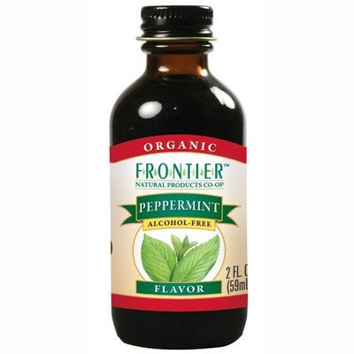 Frontier Peppermint Flavor Certified Organic (Pack of 6)
