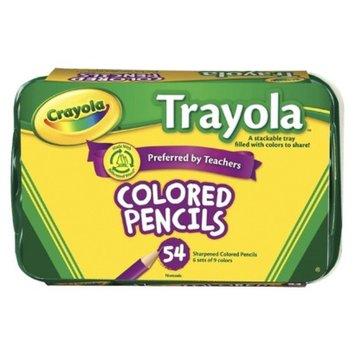 Crayola Trayola Colored Pencils - 54 Count