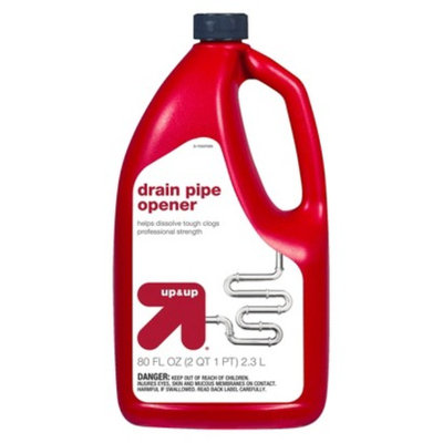 up & up Drain Pipe Opener 80 oz