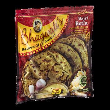 Deep Bhagwati's Bajri Rotla Millet Flour Bread - 5 CT