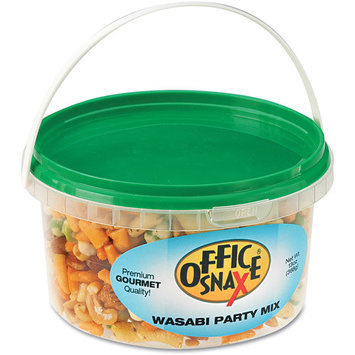 OFFICE SNAX, INC. Office Snax Wasabi Party Mix, 10 oz