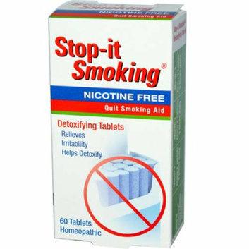NatraBio Stop-It Smoking Detoxifying 60 Tablets