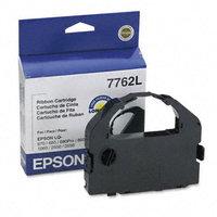 Epson 7762L Printer Ribbon, Fabric, 3M, Black