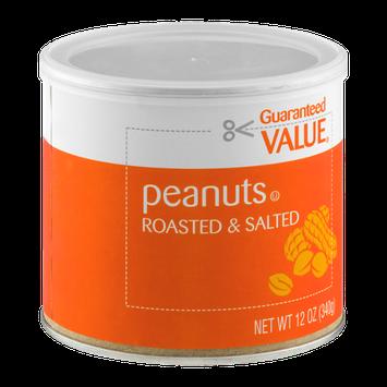Guaranteed Value Peanuts Roasted & Salted