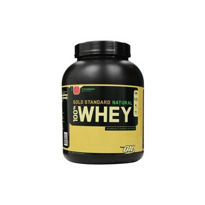 Optimum Nutrition 100% Natural Whey Gold Standard - Strawberry