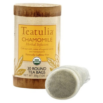 Teatulia Chamomile Herbal Infusion Caffeine-Free Herbal Tea 30 ct