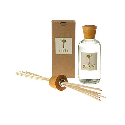 Alora Ambiance Reed Diffuser and Sticks, Isola, 16 fl oz