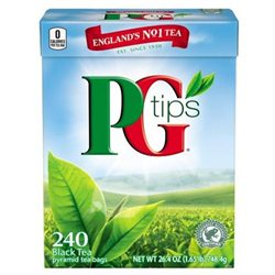 PG Tips Black Tea, Pyramid Bags, 240 bags