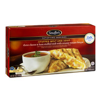 Stouffer's Satisfying Servings Stuffed Melt and Soup