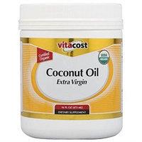 Vitacost Brand Vitacost Extra Virgin Certified Organic Coconut Oil - 16 fl oz