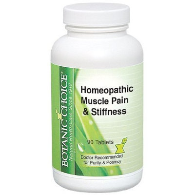 Botanic Choice Homeopathic Muscle Pain and Stiffness, 300 Mg, 90 Count