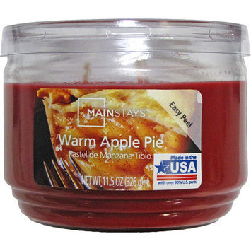 Mainstays 11.5-Ounce Jar Candle, Warm Apple Pie