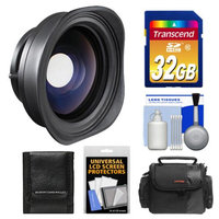 SeaLife SL975 Underwater Fisheye Wide Angle Lens with 32GB Card + Case + Accessory Kit for the DC1200 & DC1400 Digital Camera