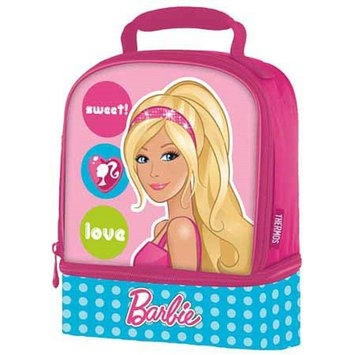 Thermos Barbie Dual Soft Lunch Kit