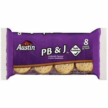Austin : Pb & J Cracker Sandwiches