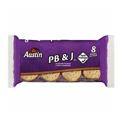 Austin : Pb & J Cracker Sandwiches
