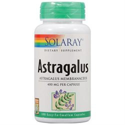 Solaray Astragalus - 400 mg - 100 Capsules