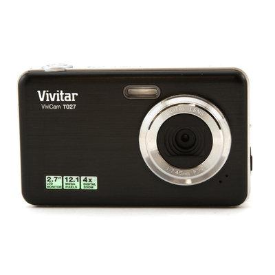 Vivitar Black VT027 Digital Camera with 12.1 Megapixels