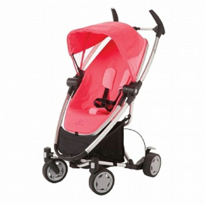 Quinny Zapp Xtra Stroller with Folding Seat, Pink Precious, 1 ea