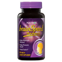 Natrol brainSpeed Memory
