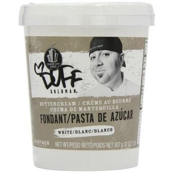 Duff Goldman by Gartner Studios Fondant, White, 2-Pounds