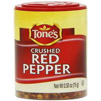 Tone's Mini's Pepper, Red Crushed, 0.50 Ounce (Pack of 6)