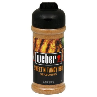Weber Grill Seasoning Sweet N Tangy BBQ, 6.75-Ounce (Pack of 4)