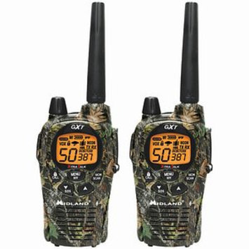 Midland 50-Channel Camo Gmrs Radio Pair Pack With Batteries & Drop-In Charger