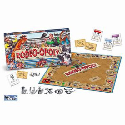 Late For The Sky Late for the Sky Rodeo-opoly Board Game