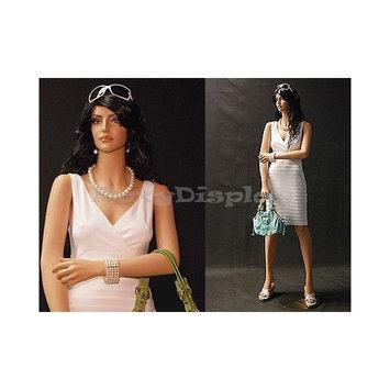 Roxy Display (MD-CC105) Female Flesh Tone Fiberglass Mannequin, Beautiful Makeup