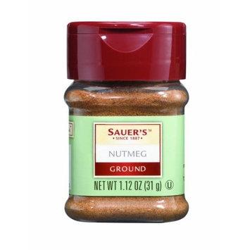 College Covers Sauer's Ground Nutmeg, 1.12-Ounce Jar
