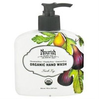 Nourish Organic Hand Wash Fresh Fig - 7 fl oz