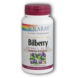 Solaray Bilberry Extract - 42 mg - 120 Capsules