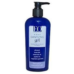 EO Products - Hand Cleansing Gel Lavender - 8 oz.