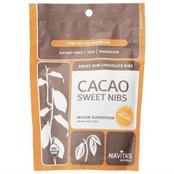 Navitas Naturals - Cacao Sweet Raw Chocolate Nibs - 4 oz.