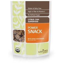 Navitas Naturals - Chia Superfood Power Snack Citrus - 8 oz.