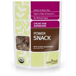 Navitas Naturals - Goji Super Food Power Snack Cacao - 8 oz.
