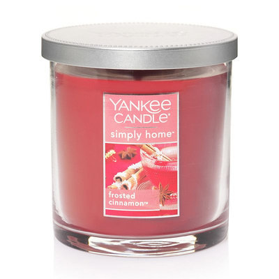 Yankee Candle simply home 7-oz. Frosted Cinnamon Tumbler Candle