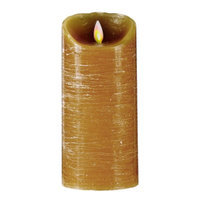 Mystique Taupe Distressed 7-Inch Candle, 1 ea