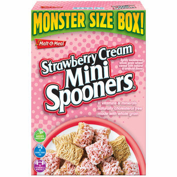 Malt-O-Meal Strawberry Cream Mini Spooners Cereal