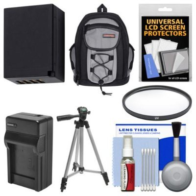 Essentials Bundle for Fuji X-A1, X-E1, X-E2, X-M1, X-T1 with 16-50mm, 18-55mm Lens with Case + NP-W126 Battery & Charger + Tripod + UV Filter + Kit