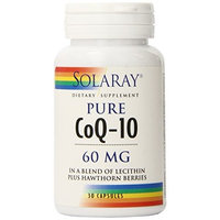 Solaray CoQ-10 Capsules, 60mg, 30 Count